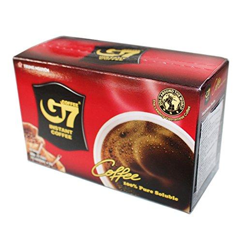 5x30g (75Beutel) Trung Nguyen G7 Instant schwarzer Kaffee