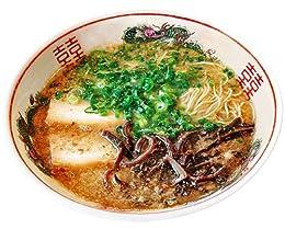 九州 博多 だるまらーめん 10食セット (2食入X5箱) (超濃厚 豚骨 ご当地 ラーメン)