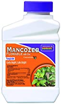 Bonide (BND862) - Fungal Disease Control, Mancozeb Flowable with Zinc Fungicide Concentrate (16 oz.)