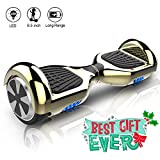 COLORWAY Hoverboard Overboard 6.5 Pouces,E-scooter Intelligent Self-balance Gyropode avec LED, Scooter Electrique Auto-équilibrage