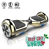 Hoverboard elettrico APP scooter a 6.5 pollici & LED Auto Balance E-Skateboard
