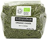 JustIngredients Bio-Schnittlauch, Organic Chives, 2er Pack (2 x 100 g)