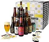 Assortiment ou Coffret de bières - Idée Cadeau - Bières du Monde - Pack de Bière - Noël - Cadeau de Noël (Coffret Christmas Cheers)