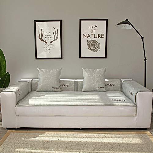 Hybad sofa saver protector, 1/2/3/4/5 zits zomerbank kussen, koel ijs zijde sofa covers, bank koeler, leren bank anti-slip cover handdoek