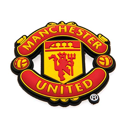 Manchester United FC - Calamita 3D da frigo (Taglia unica) (Rosso)