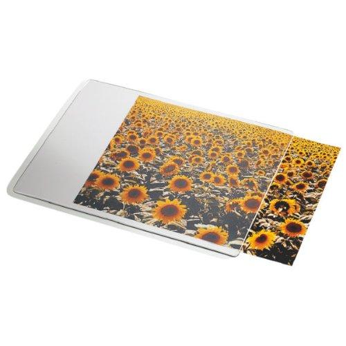 Esselte Tapis de Souris Personnalisable, 19 x 24 cm, Blanc/Transparent, 67691