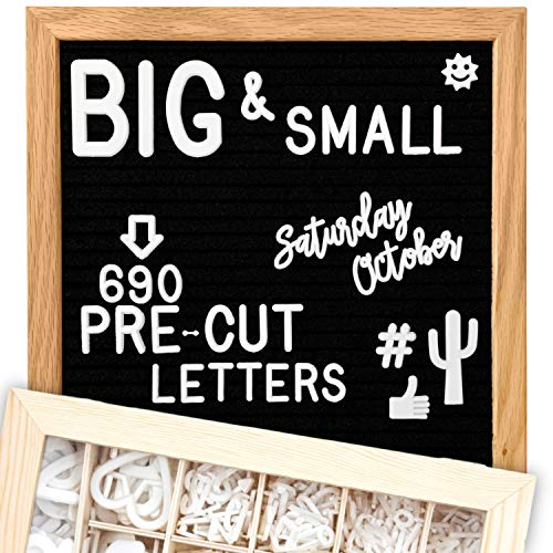 Felt Letter Board Set
