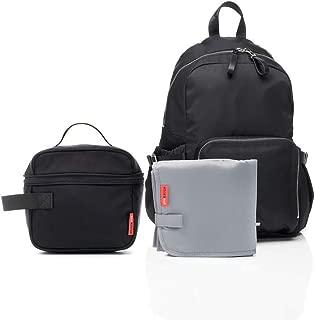Storksak Hero Backpack Diaper Bag, Black, One Size