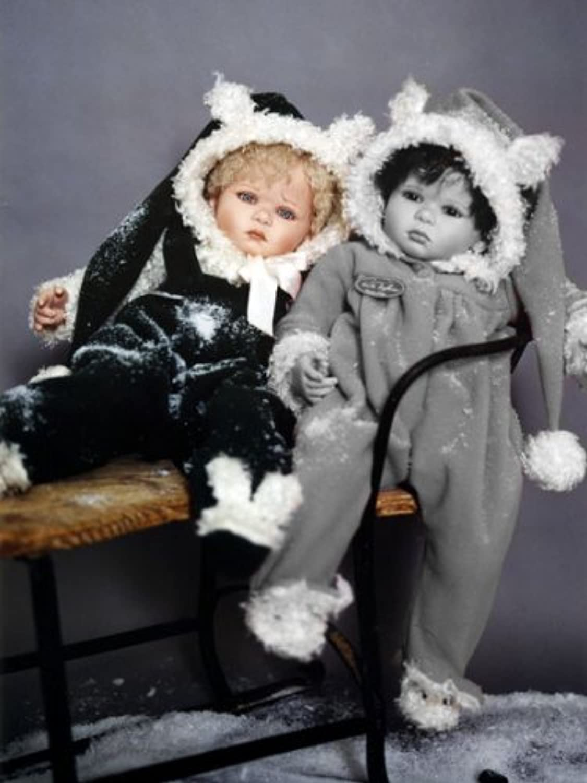 Ruth TREFFEISEN Baby Witta Puppe, 59 cm, Vinyl-Art B005WLDJFU Qualität zuerst  | Schön und charmant