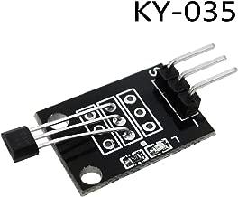 Zamtac 10PCS 3pin KY-035 Class Bihor Analog Hall Magnetic Sensor Module DIY Starter Kit KY035
