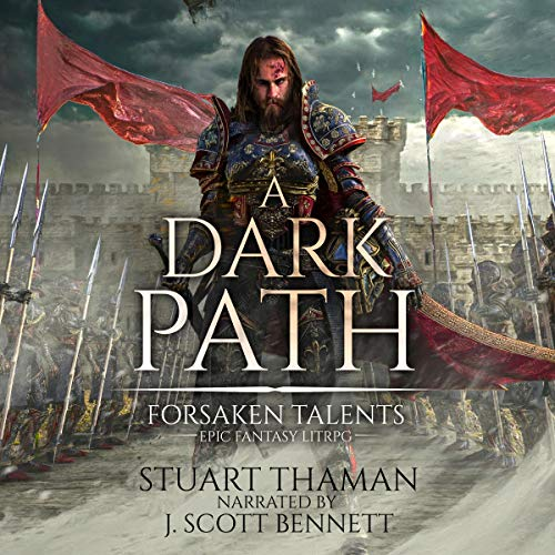 A Dark Path (Grimdark LitRPG)  By  cover art