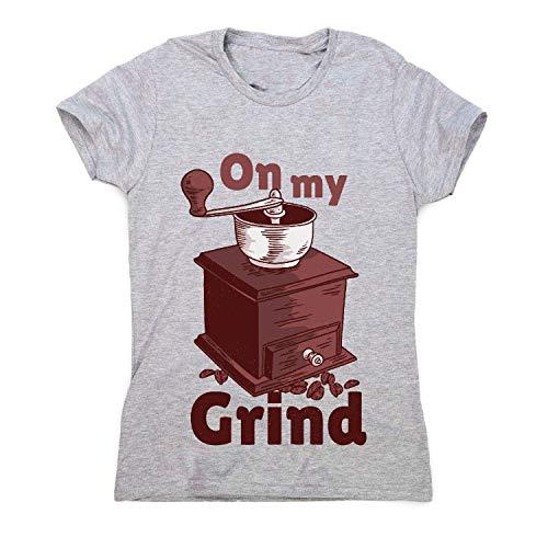 Graphic Gear Moulin à café manuel pour femme - Gris - XL