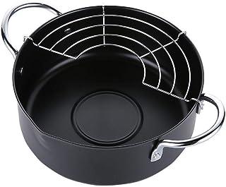 Chytaii. Sartenes para Saltear Acero inoxidable Sartenes para Freír Sartenes para Tortilla Sartenes para Escalfar Huevos Hogar Cocina