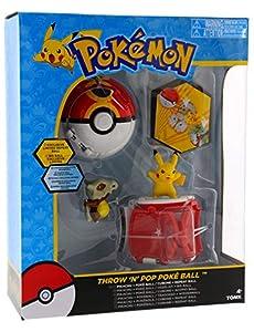 Pokemon Throw 'n' Pop Pokeball Pikachu & Poke Ball / Cubone & Repeat Ball - Figura de Bola