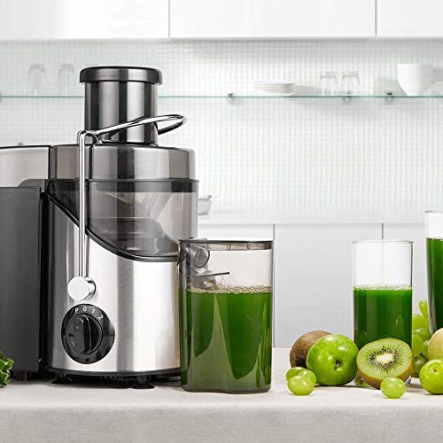Electric Cold Press Juicer Machine Three Speed Slow Fruit Juice Extractor Maker