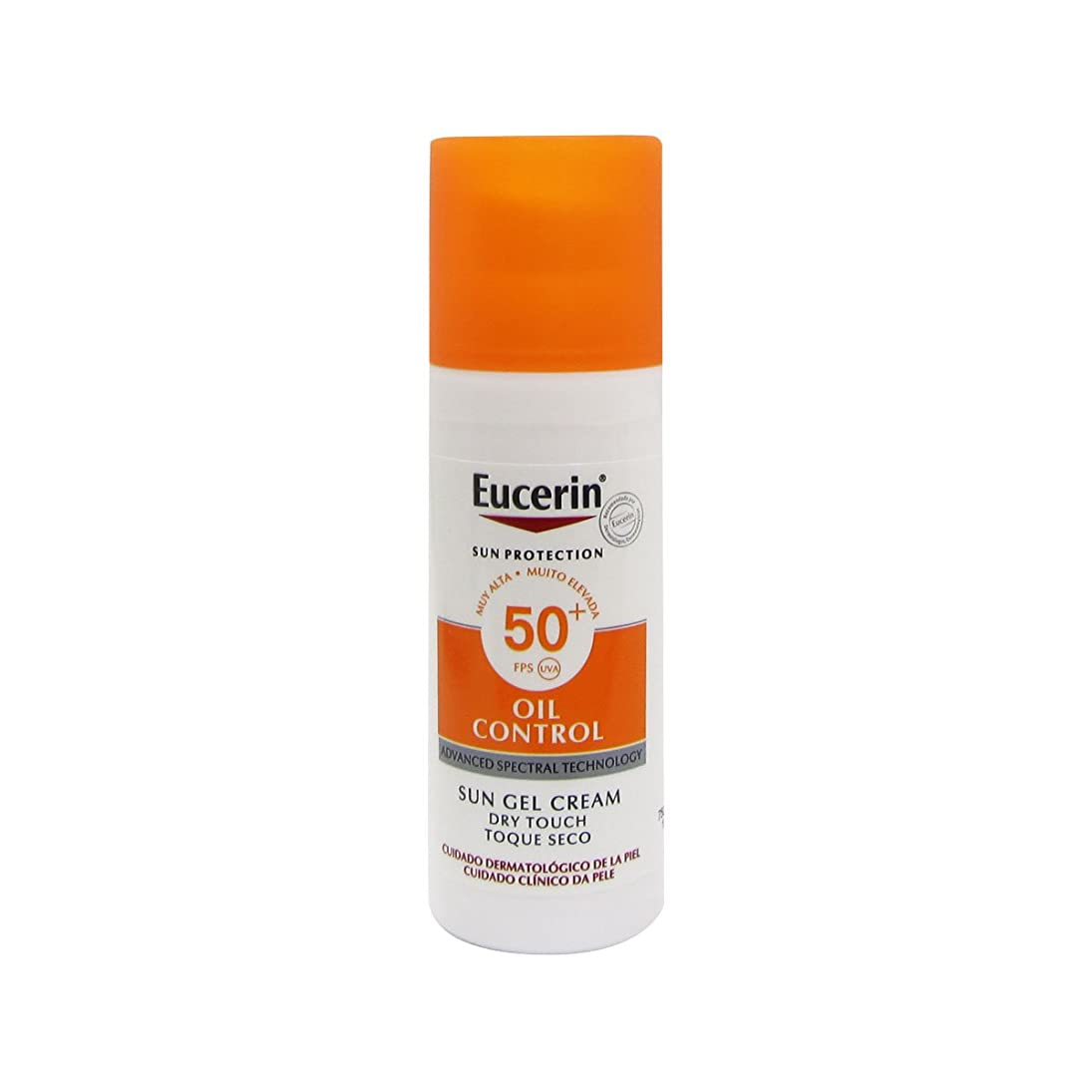 常習的毒規範Eucerin Sun Face Oil Control Gel-cream Spf50 50ml [並行輸入品]