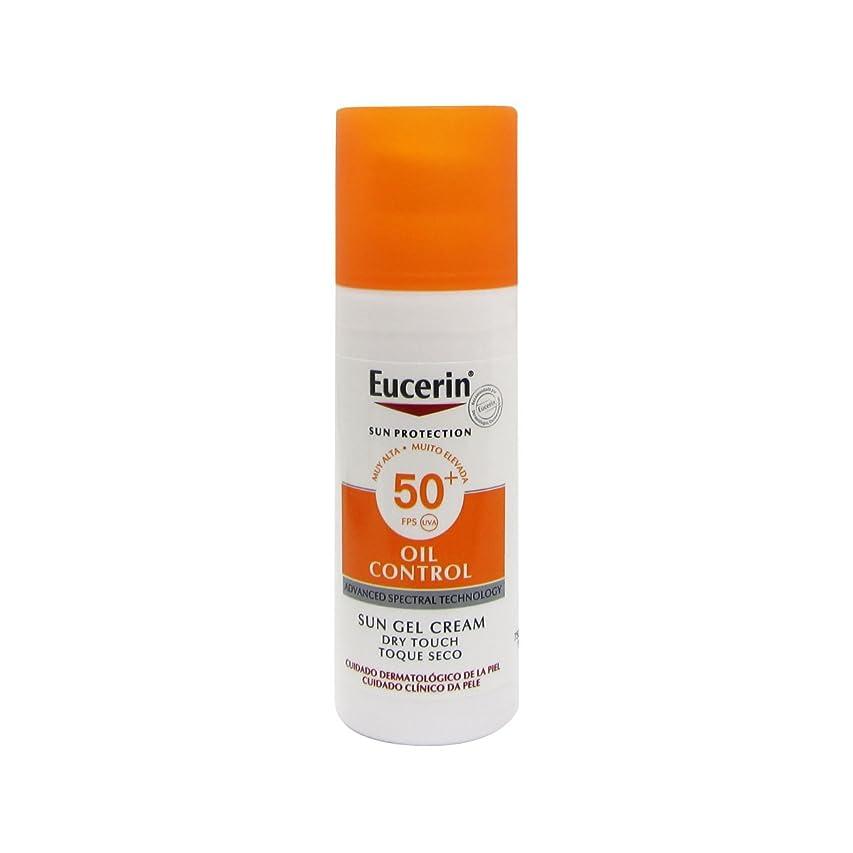 流購入五Eucerin Sun Face Oil Control Gel-cream Spf50 50ml [並行輸入品]