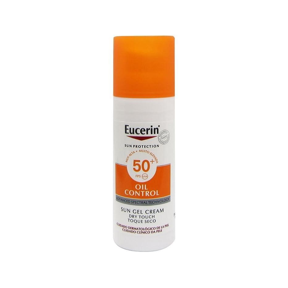 差別コンデンサー否定するEucerin Sun Face Oil Control Gel-cream Spf50 50ml [並行輸入品]