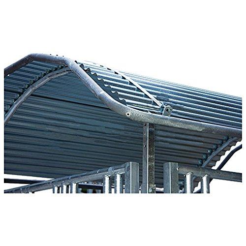 Gli spigoli del tetto della staffa di protezione, lungo, per profi Viereck raufen 2,00x 2,05m–303545