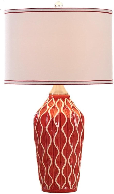XiuXiu Nordic Modern Minimalistischen Keramik Stoff Tischlampe Nachttischlampe Wohnzimmer Studie Büro Schlafzimmer Dekoration Tischlampe (Farbe   Button switch-L) B07HMP9391     | Am wirtschaftlichsten