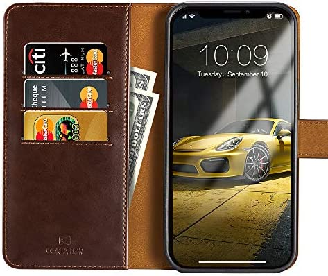 CORTAILOR Wellet Case for iPhone 12 Pro Max Case 2 in 1 Detachable Magnetic PU Leather Card product image