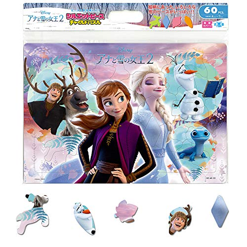 テンヨー 60ピース 子供向けパズル こころはひとつ(アナと雪の女王2) 【チャイルドパズル】