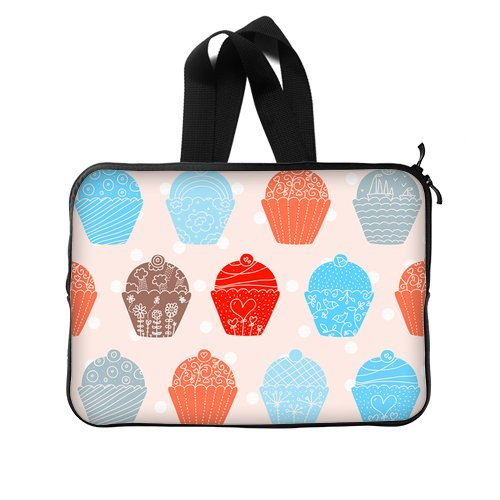 Colorful Cakes Like Angels With Hearts New Laptop Sleeve 14'(Two Sides)