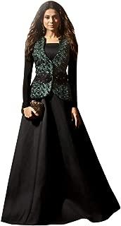 Indian Ethnic Long Anarkali Salwar Kameez Suit Jacket Style Party Wear Collection 7352