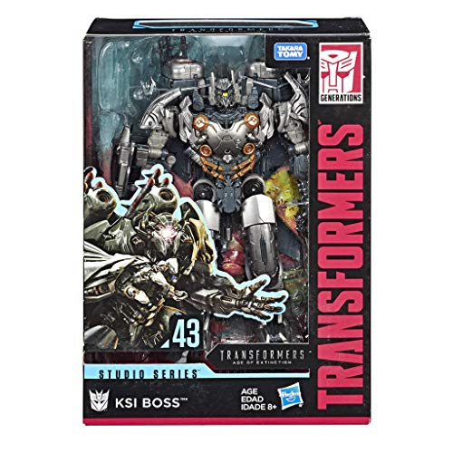 Transformers- Generation Studio Series Voyager Tf4 KSI Boss (Hasbro E4181ES0)