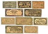IMPACTO COLECCIONABLES Segunda Guerra Mundial - 10 Billetes Originales de Filipinas 1941-1945 - La sentencia de Muerte, el Dinero de la Guerrilla