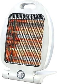 Takestop® estufas estufa eléctrica de cuarzo 800W dos elementos Radiador Calefactor para casa oficina