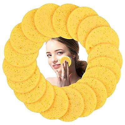 50 Stück Gelb Gesichtsschwamm
