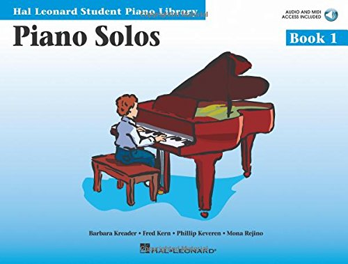 Piano Solos Book 1 - Book with Online Audio and MIDI Access: Hal Leonard Student Piano Library