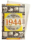 Geburtstagskarte 1944 mit Video-CD Jahreschronik