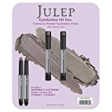 Julep Crème to Eyeshadow Stick Duo - Taupe Shimmer and Stone