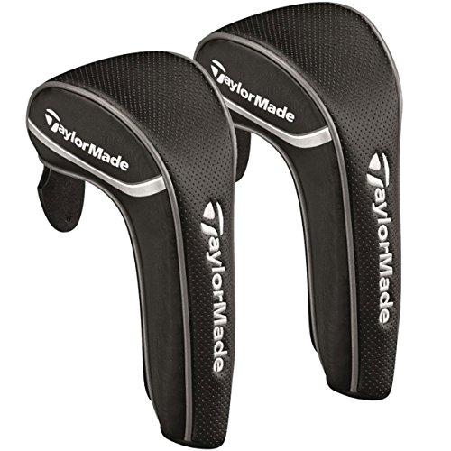 TaylorMade Universal-Golfschlägerhaube, semi-perforiert, erhältlich für viele Schlägerarten, schwarz