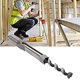 Accessori per la lavorazione del legno Trapano a foro quadrato da 1/2 pollice, punta da tr...