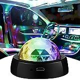 FANPING LED USB Car Ambiente-luz, luces estroboscópicas portátiles for Niños fiestas de cumpleaños del disco de DJ, Música de voz LED DJ Control luz de la noche de la etapa interior del coche decoraci