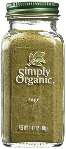 Simply Organic Btl Sage Grnd Org, 1.41 OZ