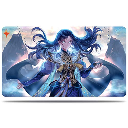 Ultra Pro Magic: The Gathering MTG War of The Spark Alternate Art Narset Playmat