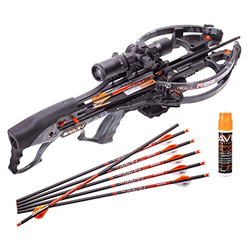 RAVIN Crossbow R26 400 FPS Crossbow - Predator Dusk Grey Crossbow Serving and String...