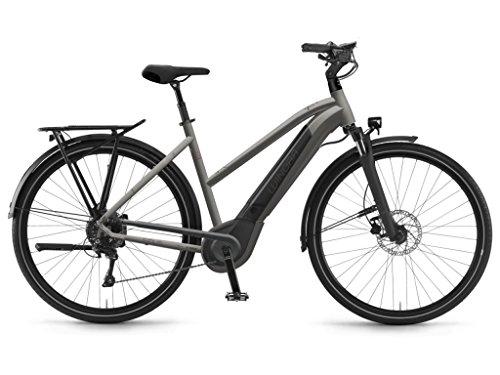 Winora Sinus iX11 500 Damen Pedelec E-Bike Trekking Fahrrad grau 2019: Größe: 44cm