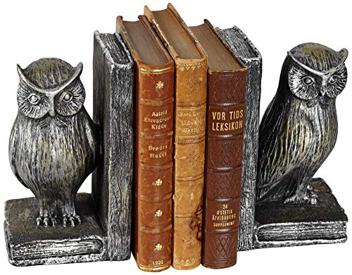 Standing Owl Bookends