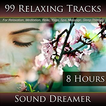 99 Relaxing Tracks for Relaxation, Meditation, Reiki, Yoga, Spa, Massage and Sleep Therapy - 8 Hours