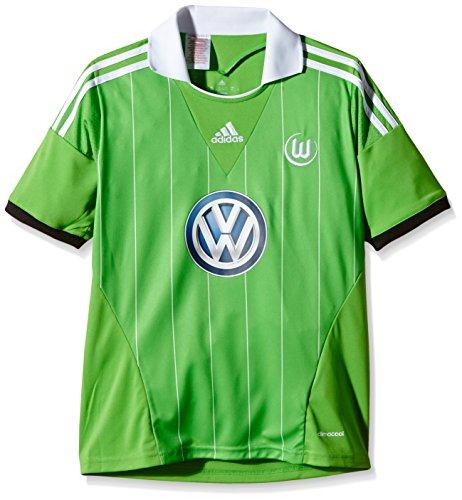 adidas Kinder Trikots VFL Wolfsburg Away, Intgrn/Black/White, 176, G69036