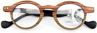 Fulision Unisex Reading Glasses Vintage Reading Small Round Frame Reading Glasses