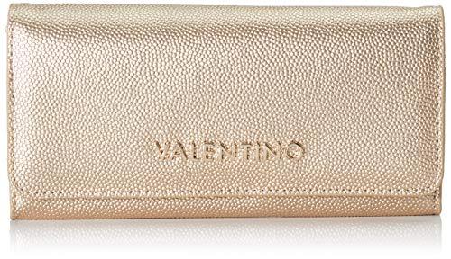 Valentino by Mario Divina - Portafogli Donna, Oro, 2.5x10.5x14.5 cm (B x H T)