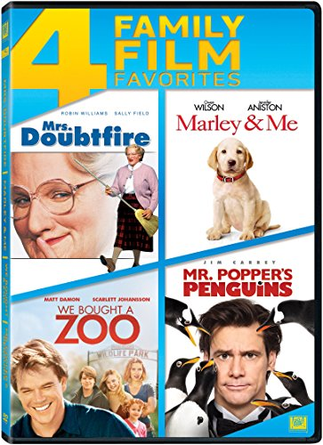 Mrs Doubtfire / Marley & Me / We Bought a Zoo