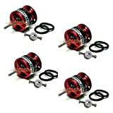 Emax Cf2822 1200kv Brushless Motor W/prop Saver for Rc Airplane Multicopter(pack of 4 Pcs)