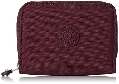 Kipling Damen Money Love Geldbörse, Violett (Dark Plum), 9.5x12.5x2.5 cm